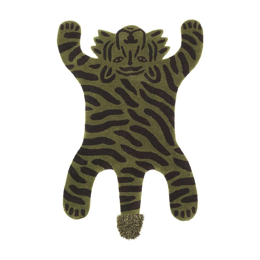 Safari rug tiger Ferm Living