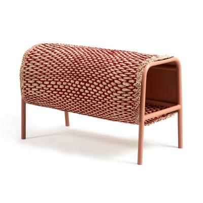 Mecato bench natural red & flesh S ames
