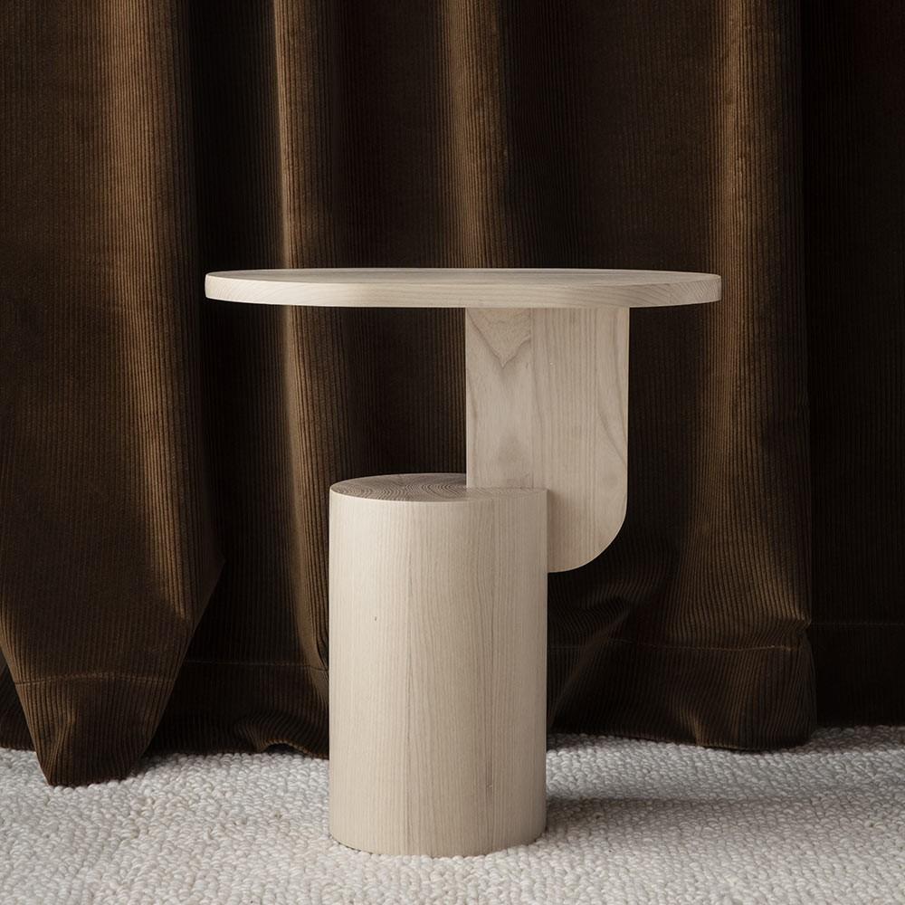 Insert side table natural Ferm Living