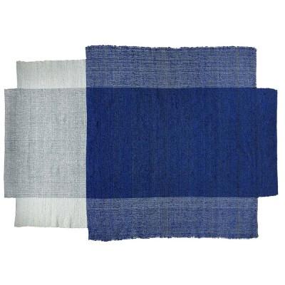 Nobsa vloerkleed blauw / mint / creme M ames