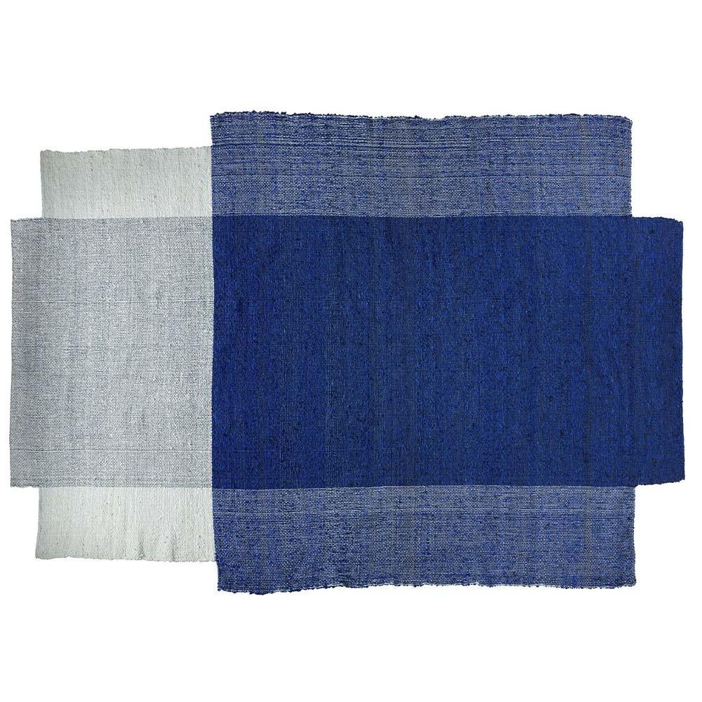 Tapis Nobsa bleu/menthe/crème M ames