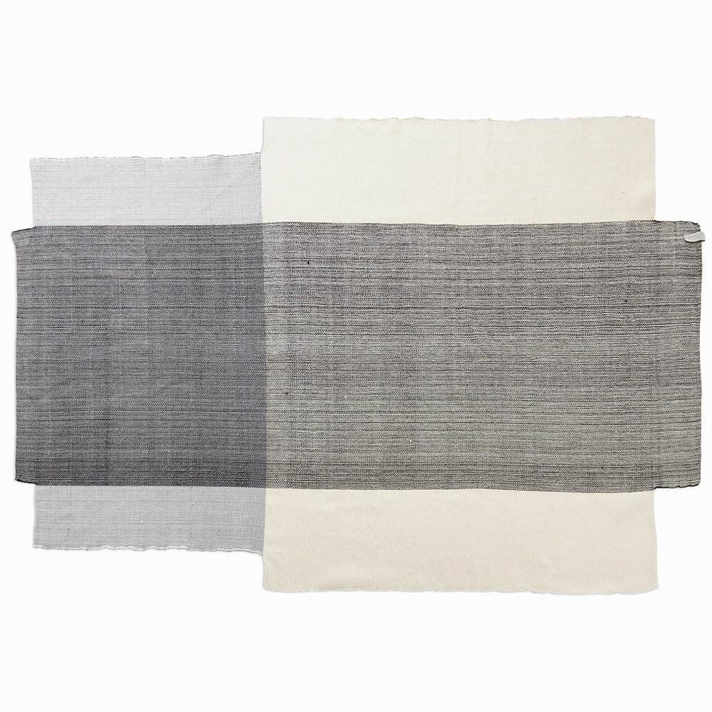 Nobsa rug grey & cream M ames