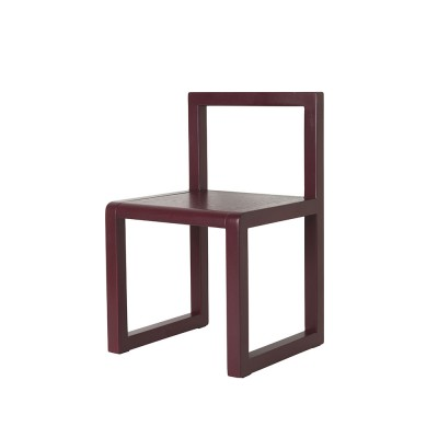 Chaise Little Architect bordeaux Ferm Living