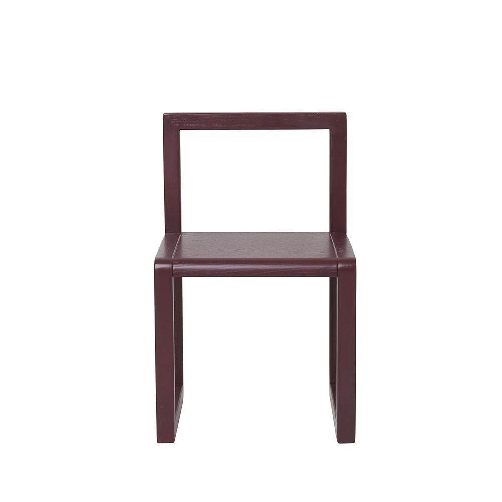 Little Architect chair bordeaux Ferm Living