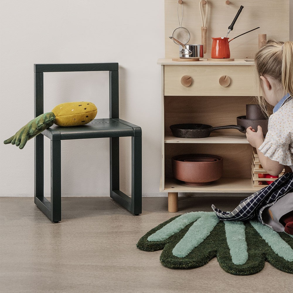 Little Architect chair dark green Ferm Living