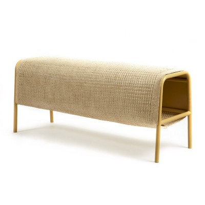Mecato bench natural & sand L ames