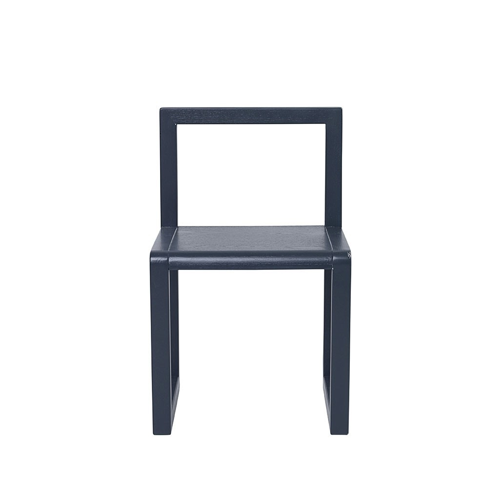Chaise Little Architect bleu foncé Ferm Living