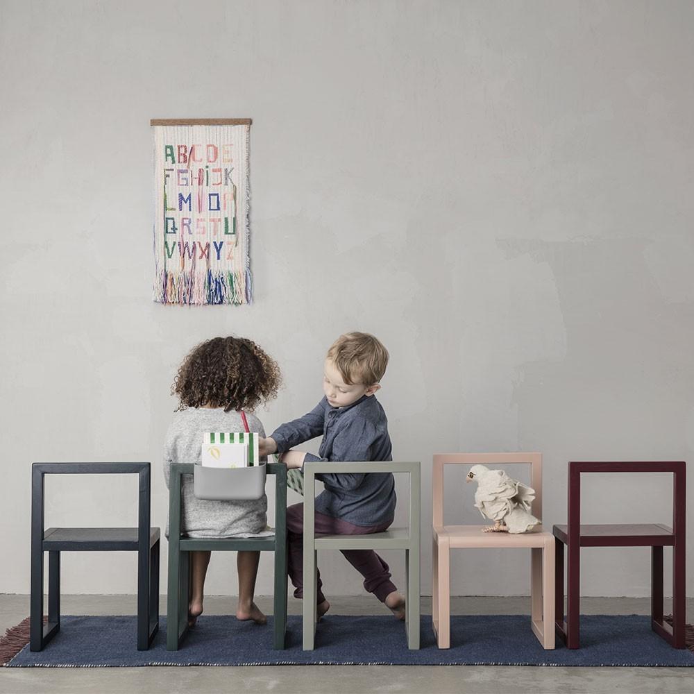 Little Architect chair rose Ferm Living