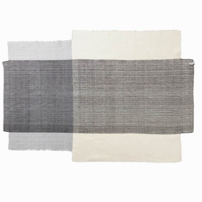 Nobsa rug grey & cream L ames