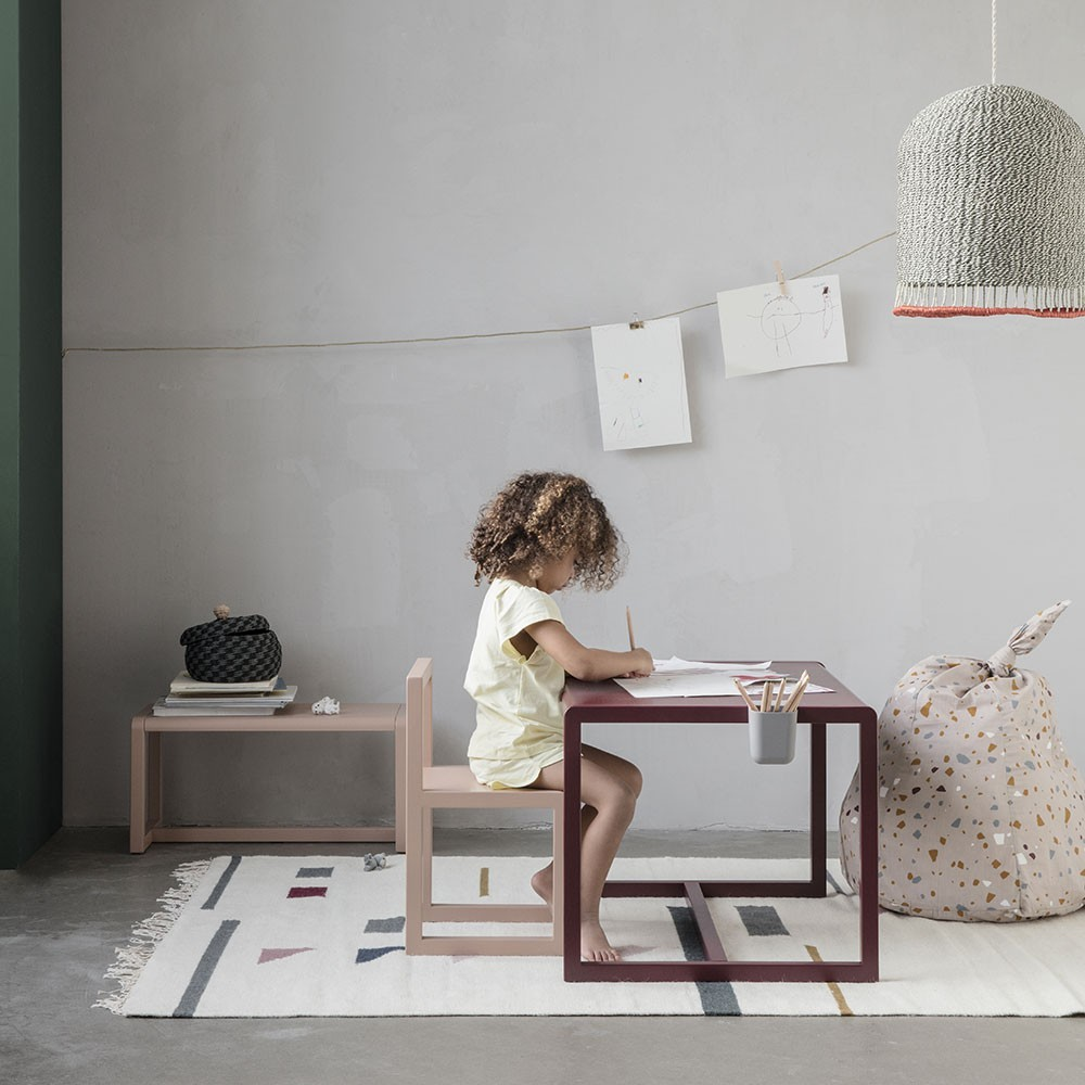 Little Architect tafel grijs Ferm Living