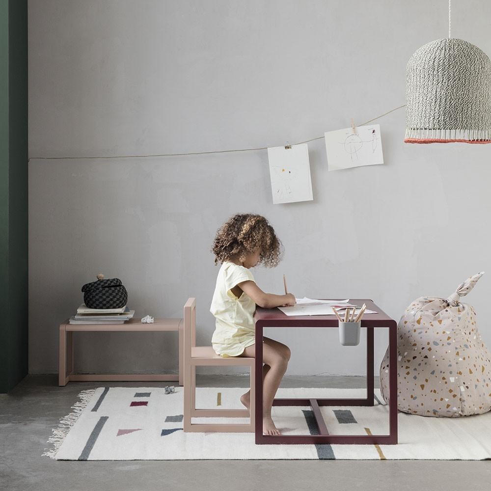 Little Architect table dark blue Ferm Living