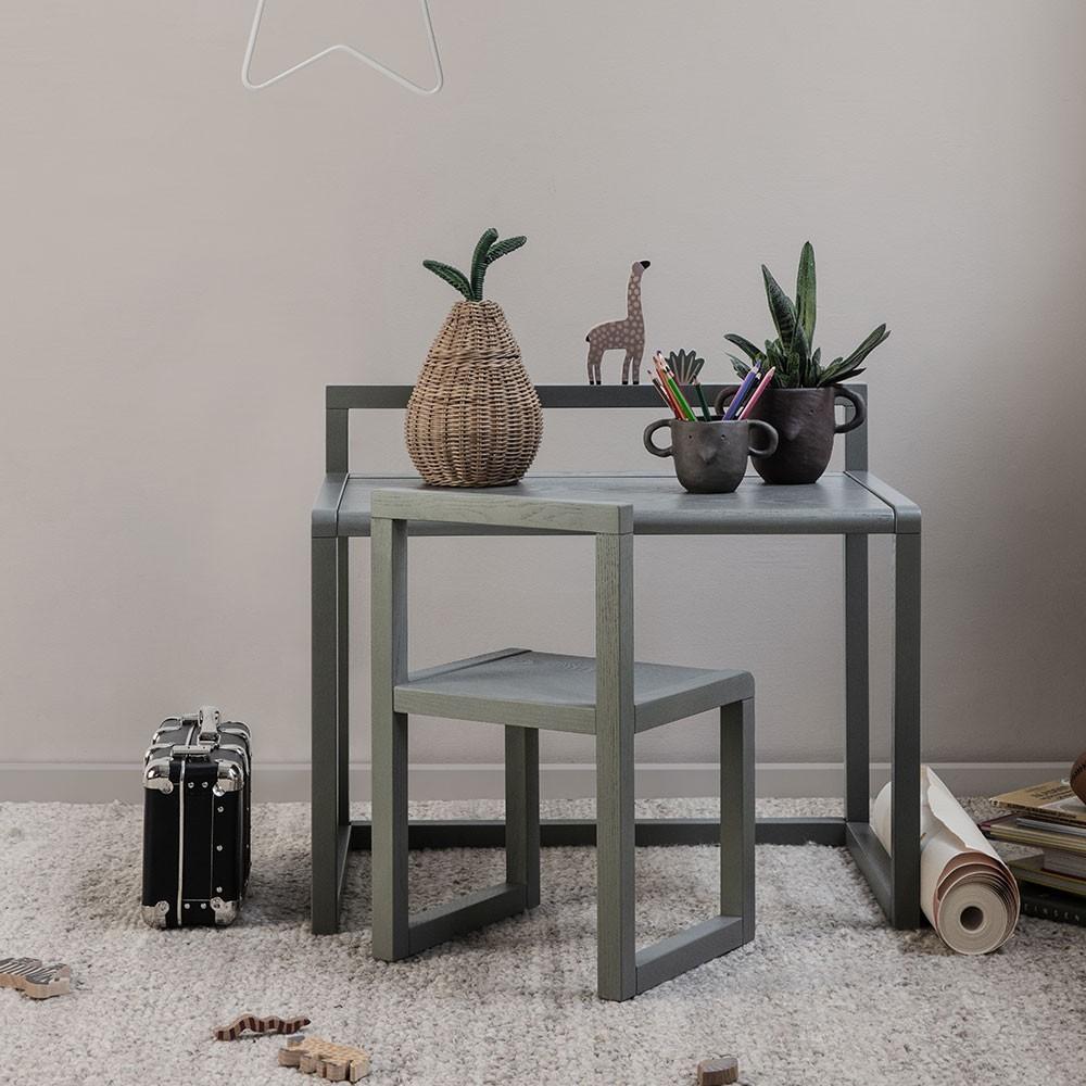 Table Little Architect bleu foncé Ferm Living