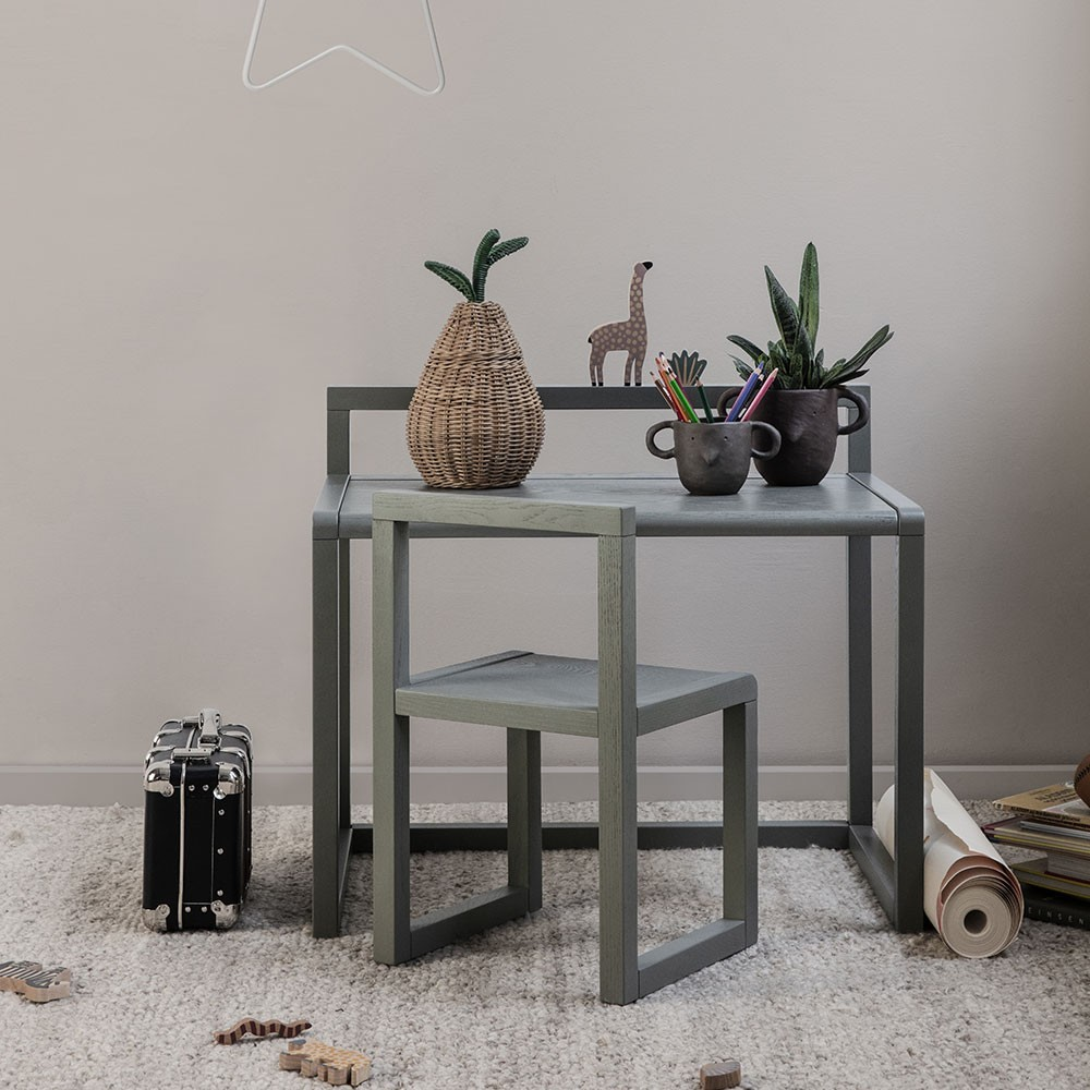 Little Architect table dark green Ferm Living