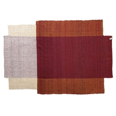 Nobsa rug red/ochre/cream L ames