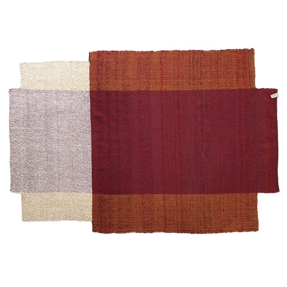 Nobsa rug red/ochre/cream L ames