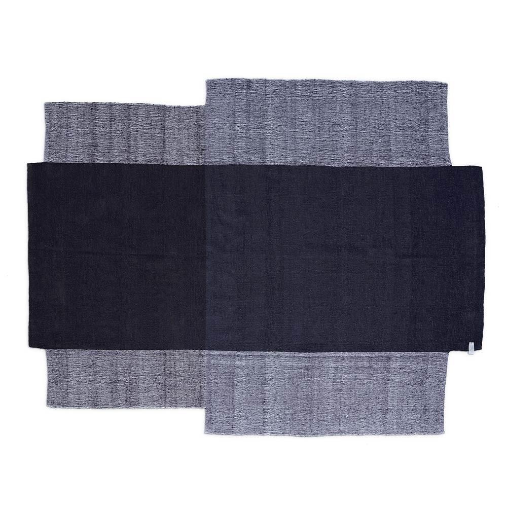 Nobsa rug grey & brown L ames