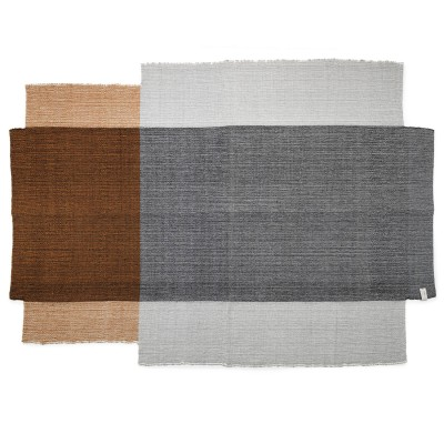 Nobsa rug grey/ochre/cream L ames