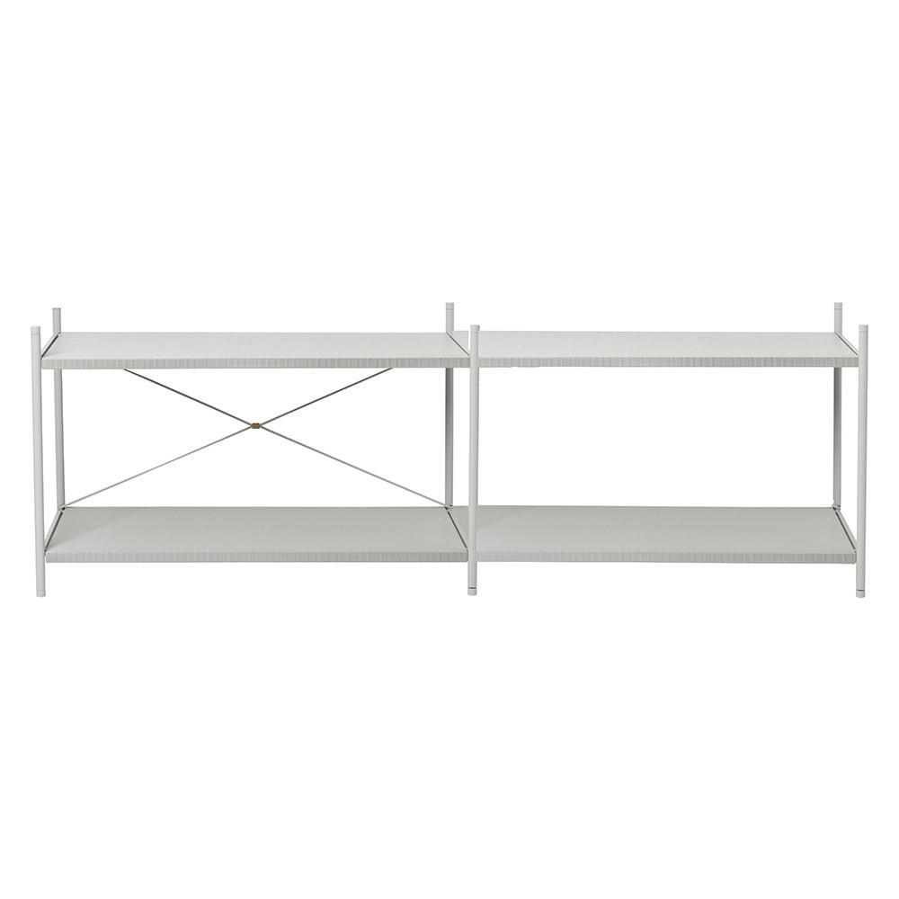 Shelf Punctual 2x2 grey Ferm Living
