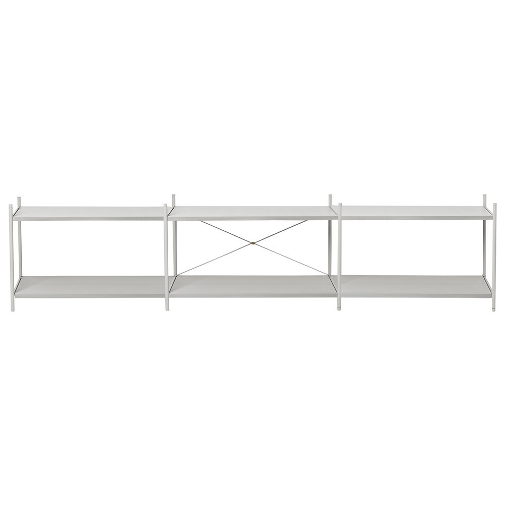 Shelf Punctual 3x2 grey Ferm Living