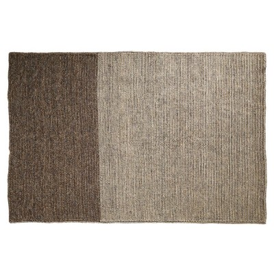 Par rug light grey & brown S ames