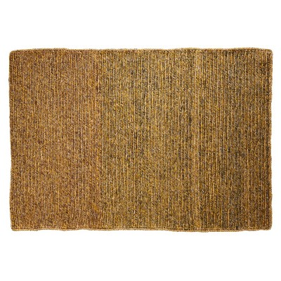 Par rug greenrose & terracotta yellow S ames