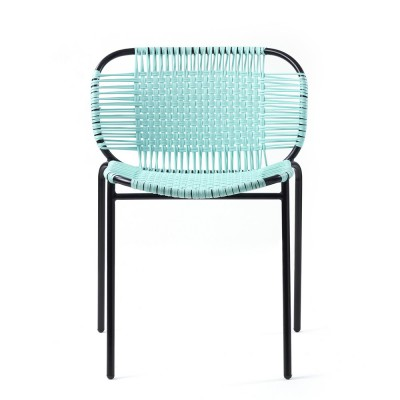 Cielo chair mint & black ames