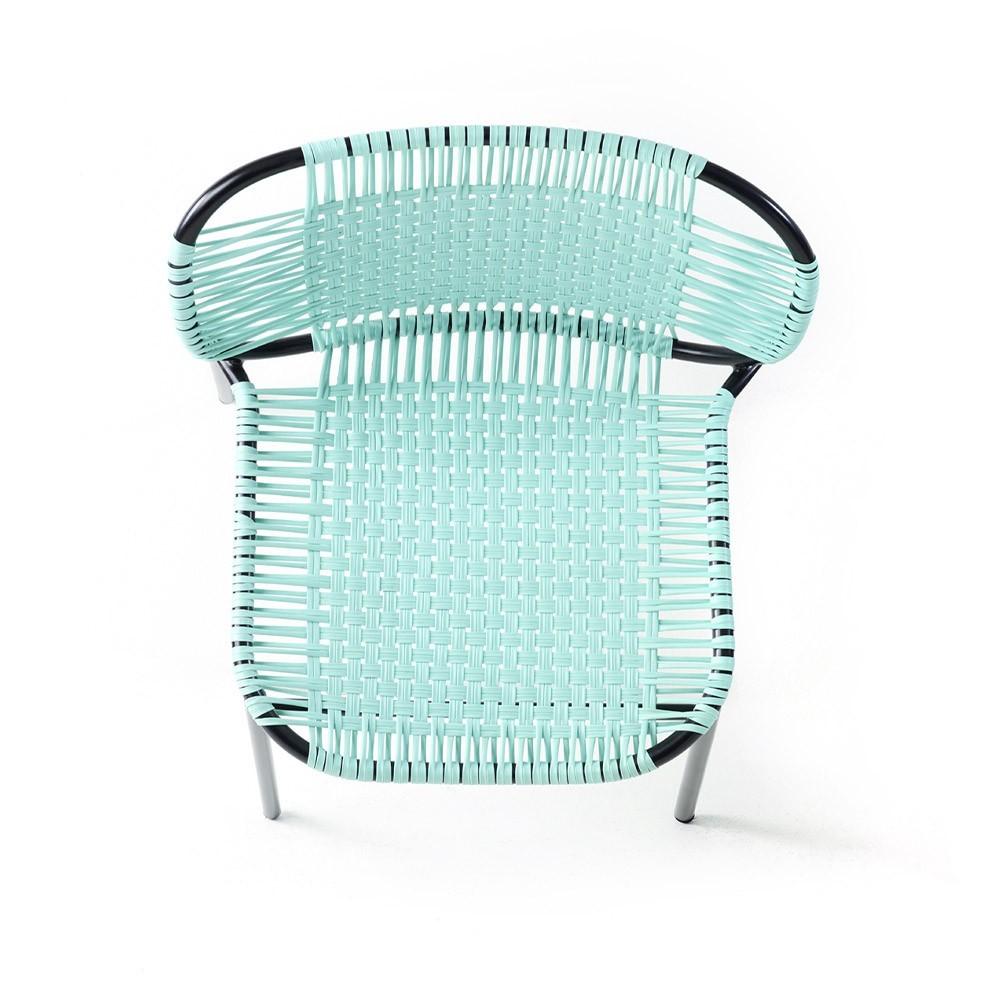 Cielo chair mint & black ames