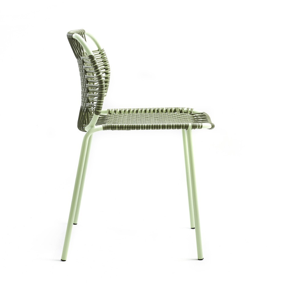 Cielo chair olive & mint ames