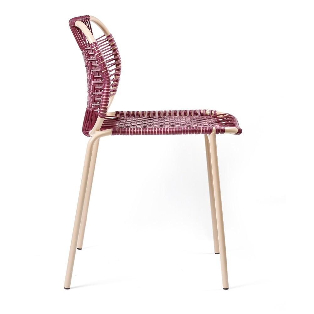 Cielo chair purple & carne ames