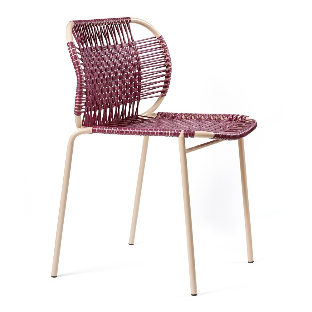 Cielo chair purple & carne ames