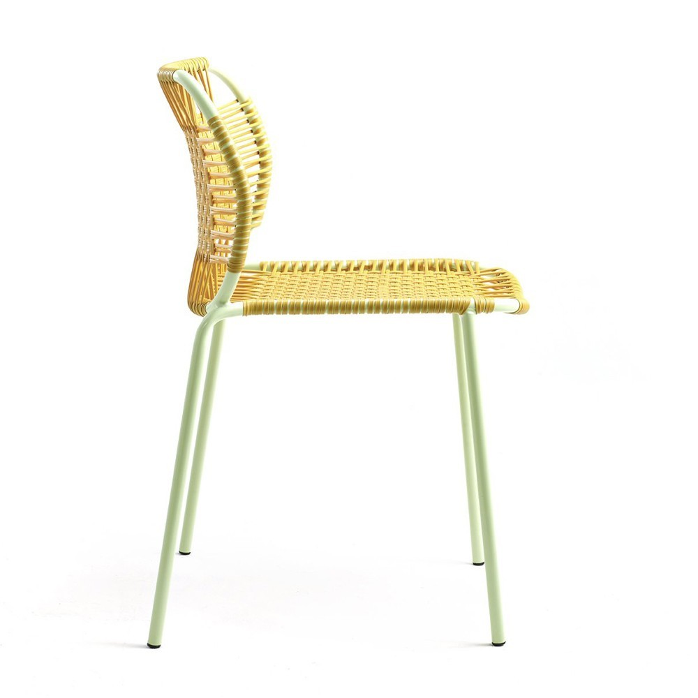 Cielo chair honey & mint ames