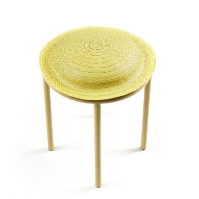 Cana stool yellow, natural & sand ames