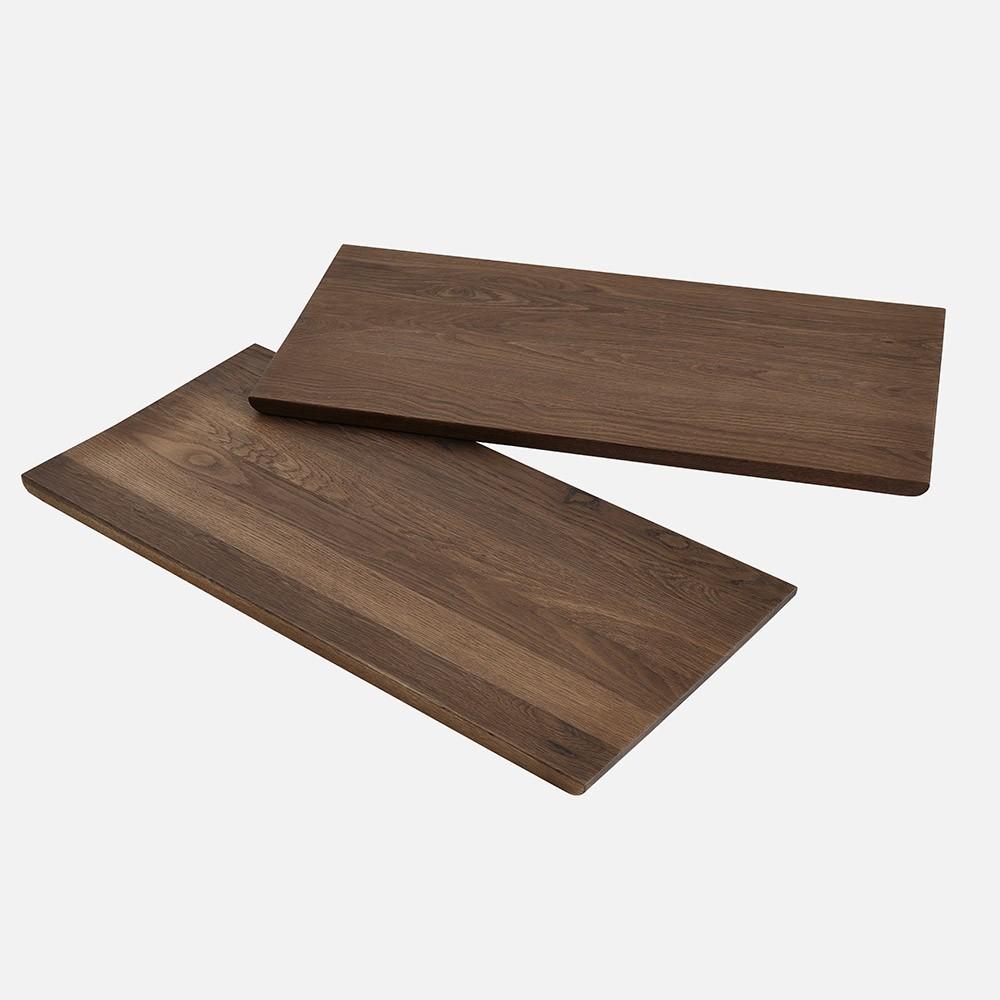 Alley 240 cm table smocked oak Woud