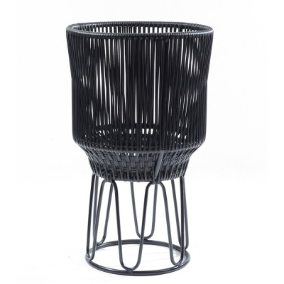 Circo flower pot 2 matt black & black ames