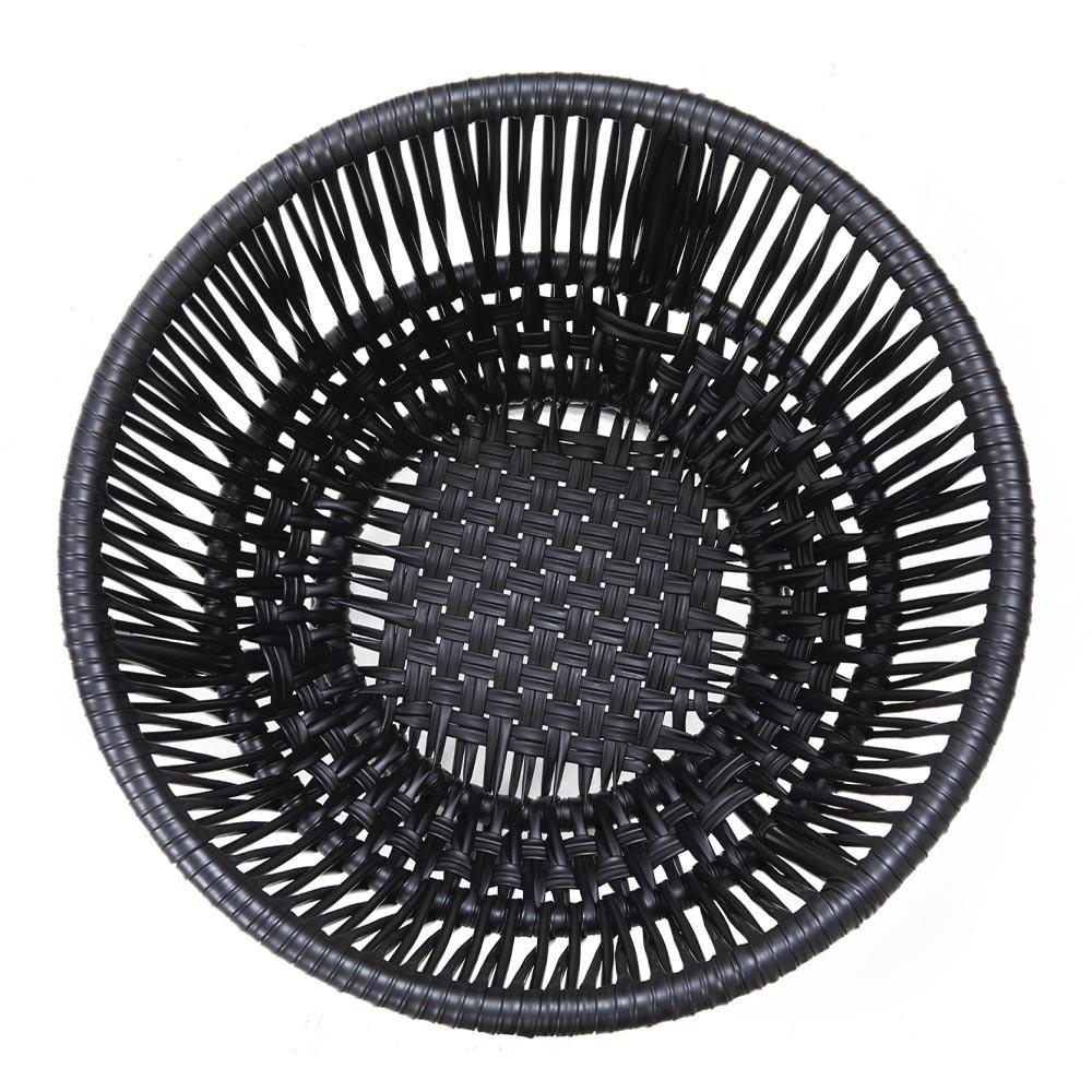 Circo 3 bloempot mat zwart & zwart ames