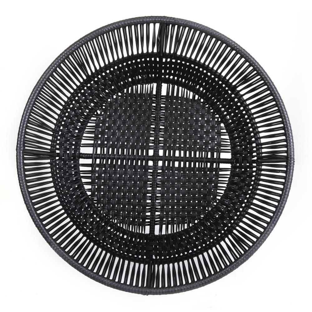 Circo bloempot 4 mat zwart & zwart ames
