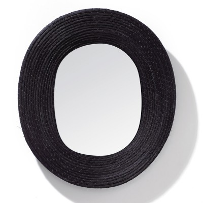 Killa oval mirror black ames
