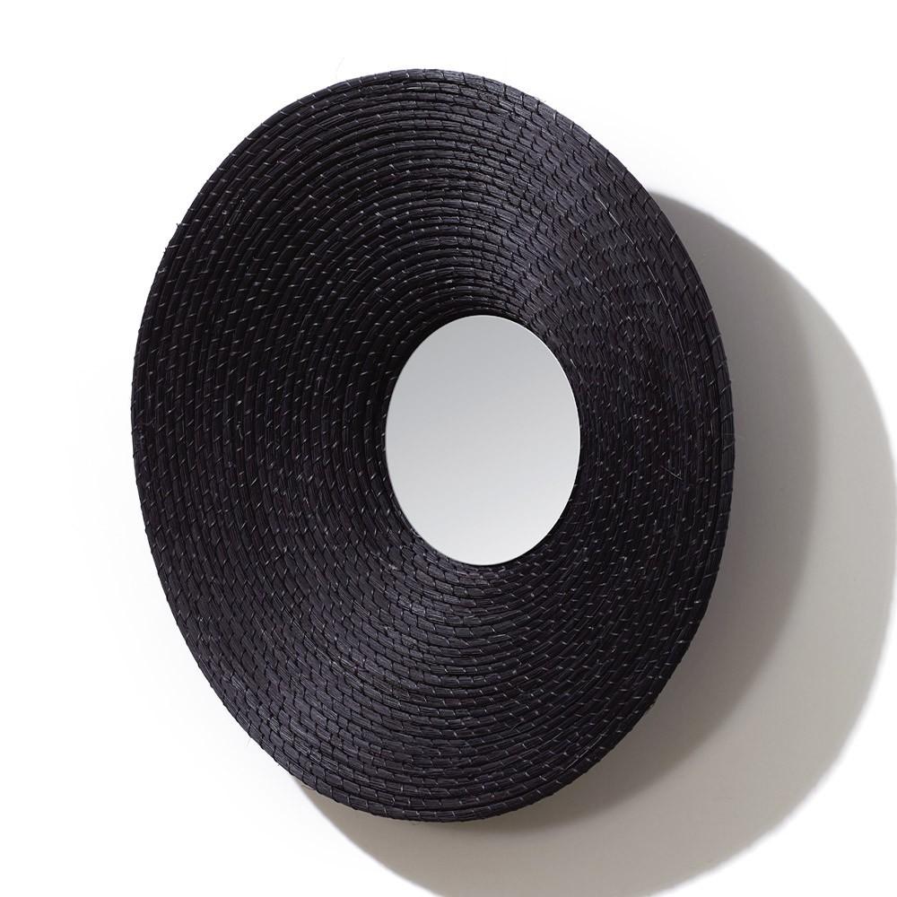 Killa round mirror black ames