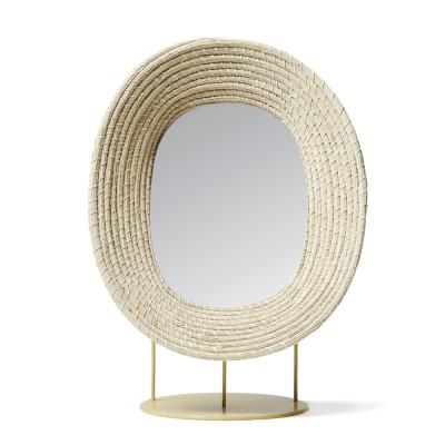 Killa staande spiegel naturel ames