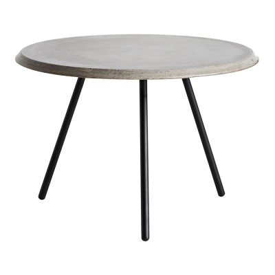 Soround coffee table concrete 60 cm S Woud