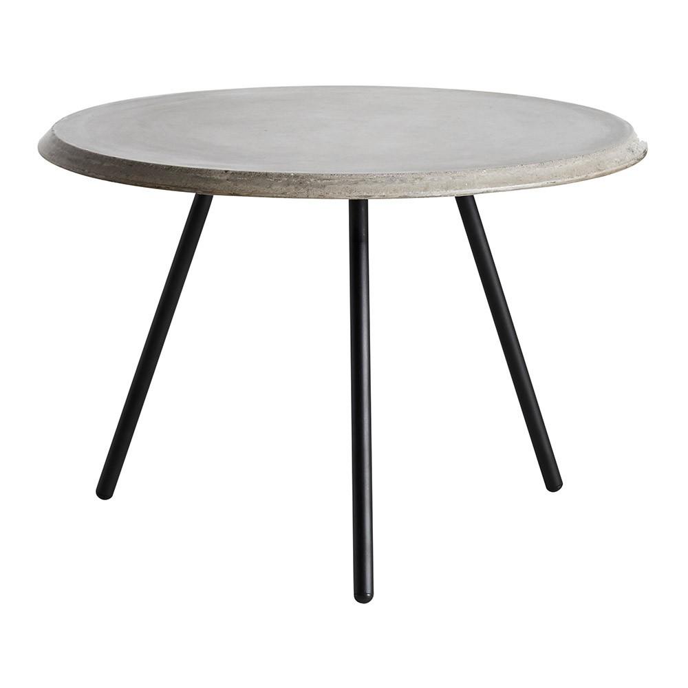 Table basse Soround béton 60 cm S Woud