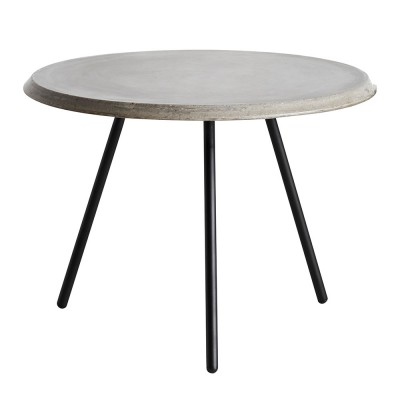 Soround coffee table concrete 60 cm L Woud