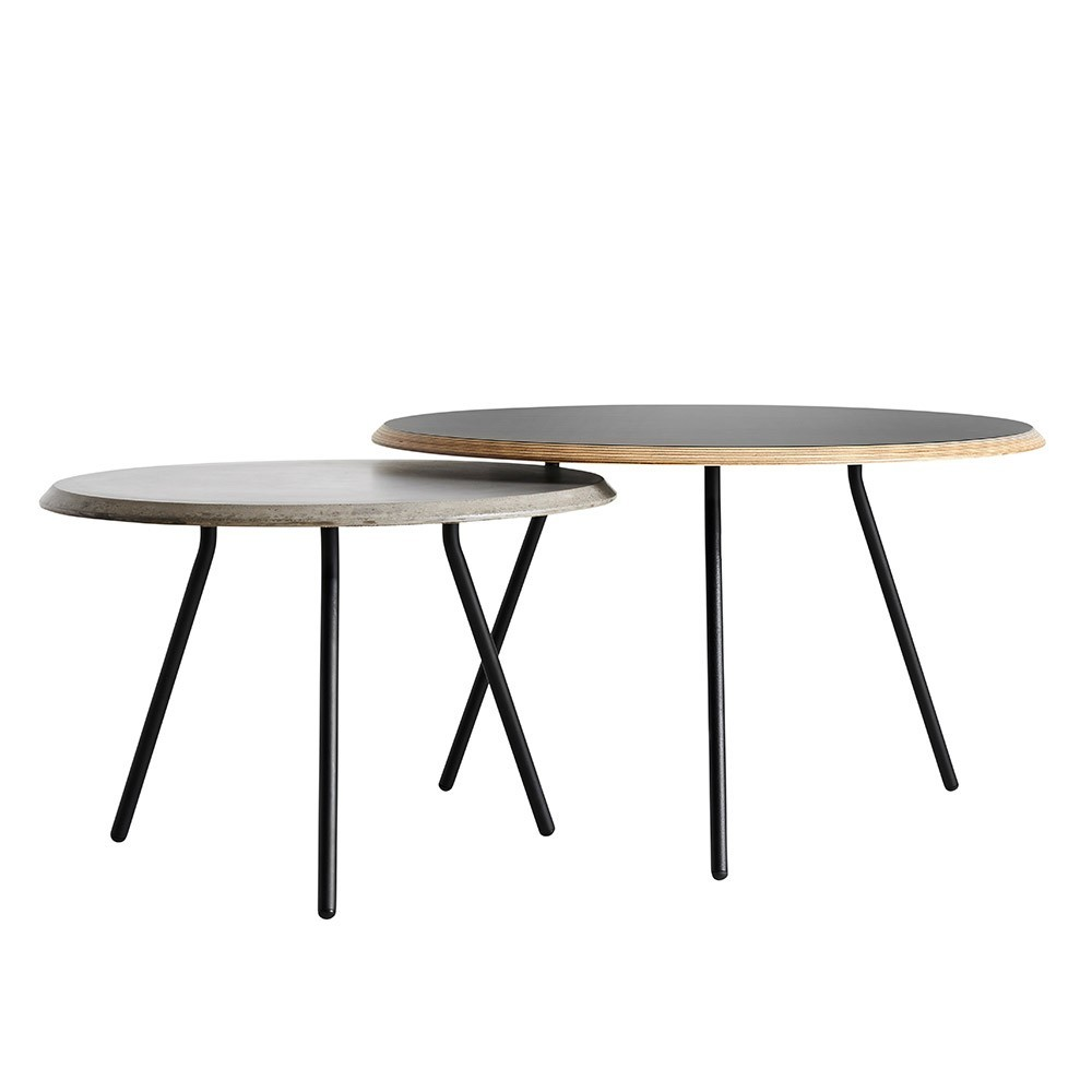 Soround coffee table fenix 60 cm L Woud
