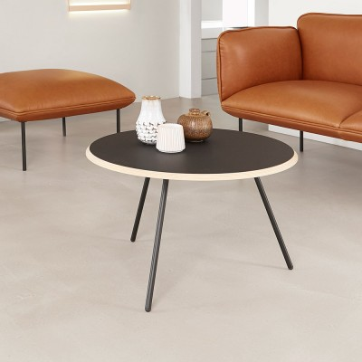 Soround coffee table fenix 75 cm L Woud