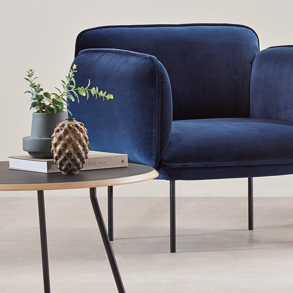 Soround coffee table fenix 75 cm L Woud