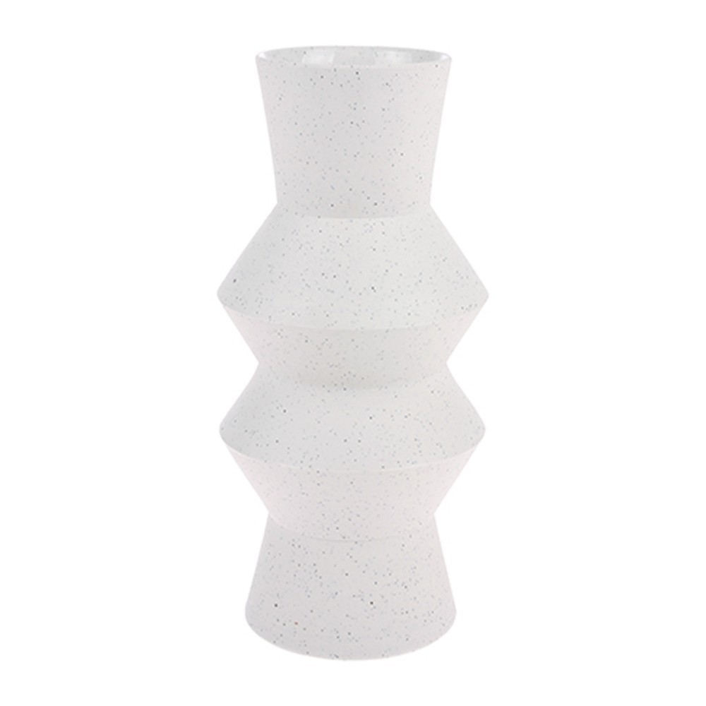 Speckled vase Angular M HKliving