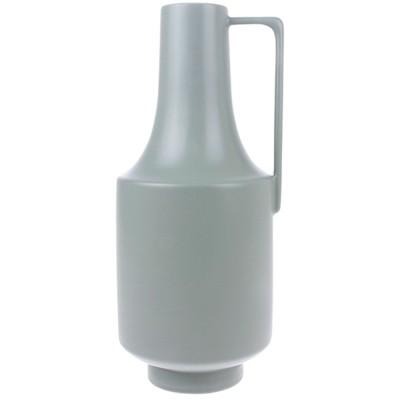 Vase vert en céramique avec poignée HKliving