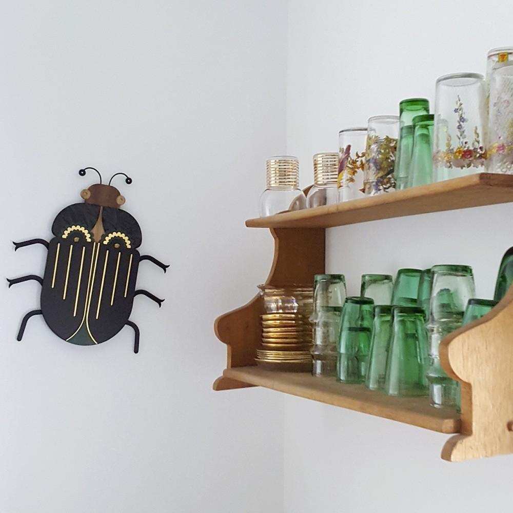 Muurdecoratie insecten n ° 6 Umasqu