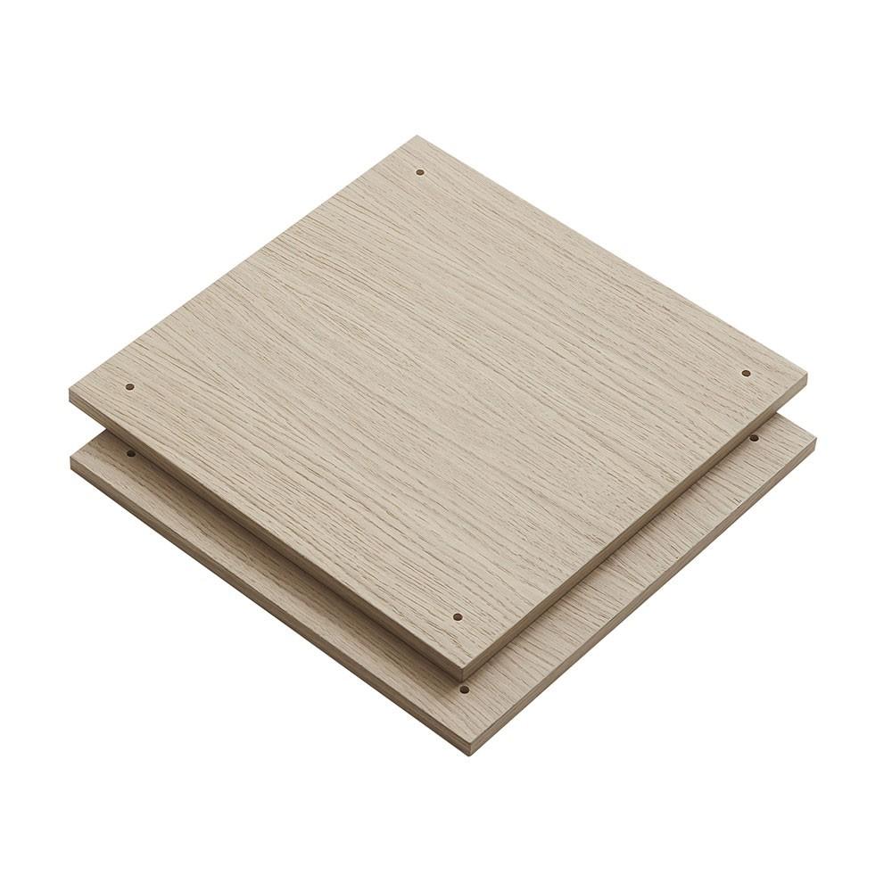 Set van 2 planken Een rekkensysteem Elevate Woud