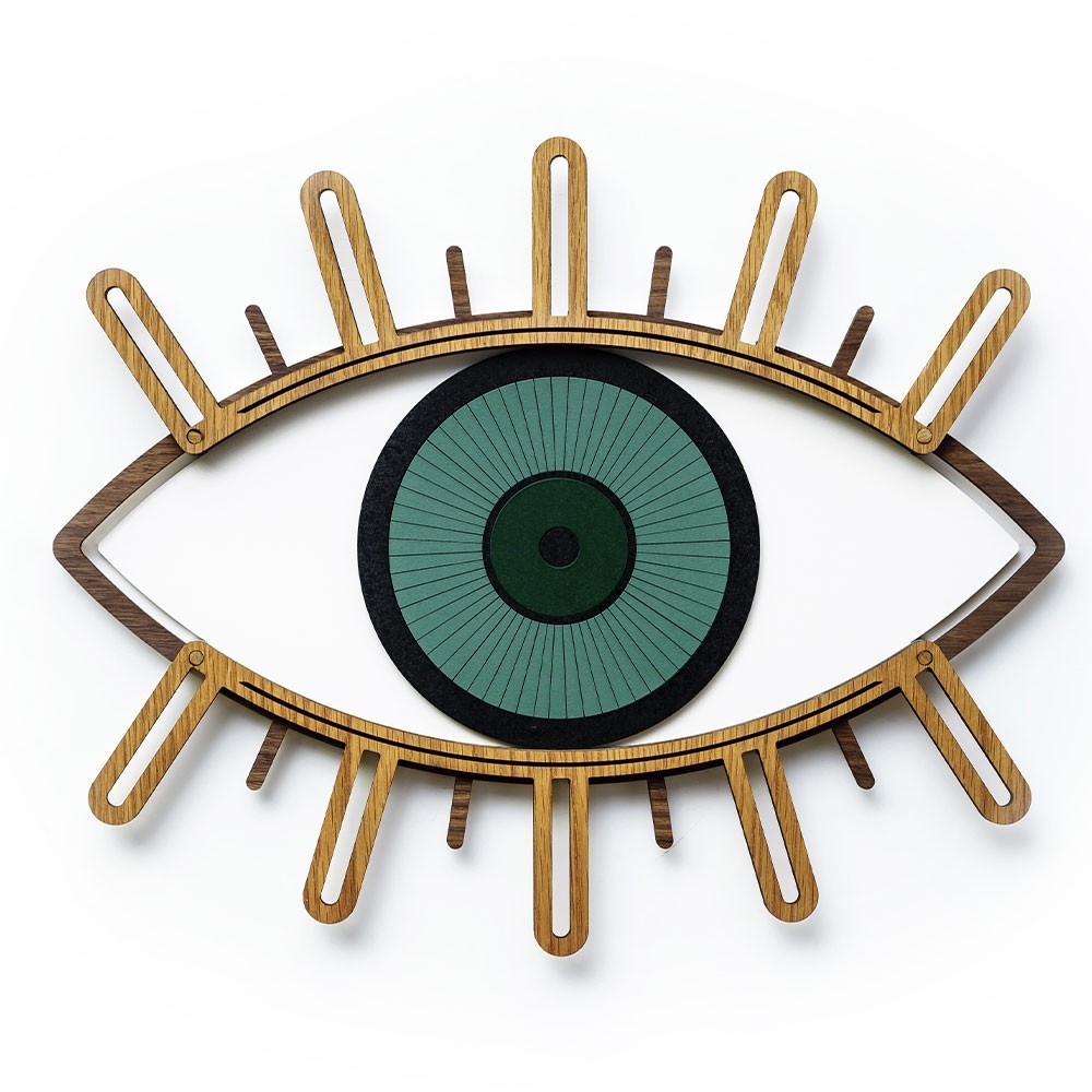 Eye wanddecoratie n ° 3 Umasqu